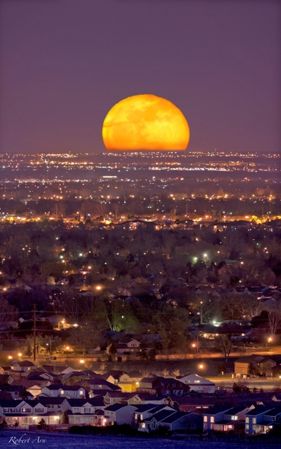 2012 May 5   Full Moonrise