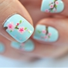Cherry Blossom nails on the BLOG today. I hope you like them :)