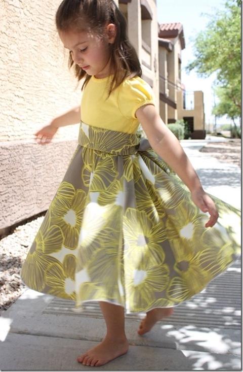 twirly dress - the crafty cupboard
