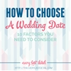 How To Choose A Wedding Date