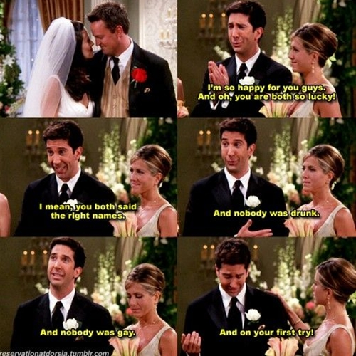 Unless you've lived under a rock your whole life you have most likely seen the classic hit tv series Friends.