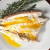 Whole Roasted Branzino With Tangerine-Fennel Vinaigrette