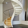 Spiral Staircase in Lightweight Concrete by Rizzi