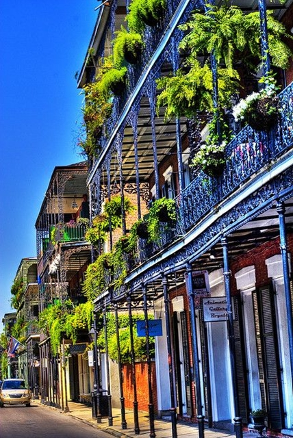 I loved the time I spent in the French Quarter.