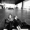 Michelangelo Antonioni and Monica Vitti in Rome, 1962.