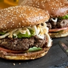Cemita Burger With Refried Beans, Chipotle Mayo, Avocado, and Oaxacan Cheese