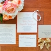 An Elegant Navy and Coral Wedding