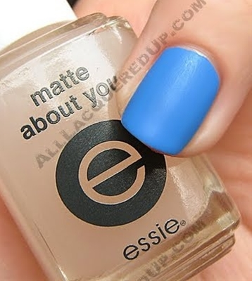 Essie matte top coat - makes any color matte.
