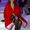 Rihanna at the Dior show in Paris.