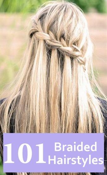 I love waterfall hairstyle