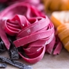 Beet-Colored Fresh Pasta
