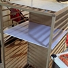 Amateur – 1st IKEA Hack: SNIGLAR cot turned mini garage shelving