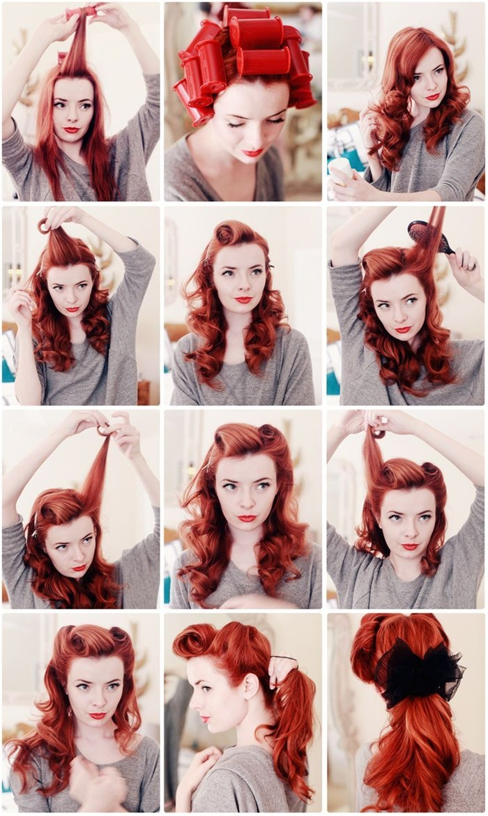 Retro pony; very 1940s.  I could do this a million times and it would never turn out this way once. Ever.