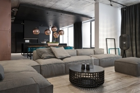 Accentuate the Positive in Two Artful Apartments