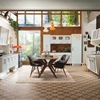 Retro Kitchen with 1950s Flare: St. Louis by Marchi Cucine