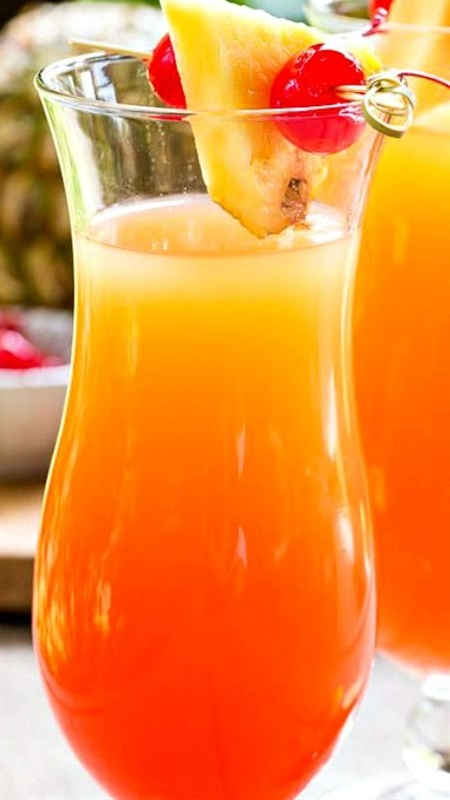 Pineapple Upside Down Cocktail Recipe