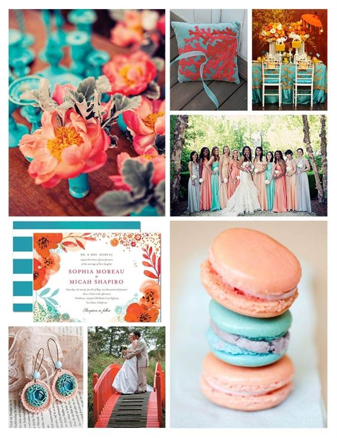 Love the flowers in upper left hand corner! amazing wedding color scheme!