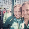 The Queen of England photobombed some athletes' selfie. She rules.
