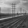 Early Morning, Train Tracks and L.A. River by Kevin McCollister ...