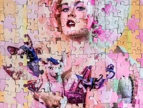 """Jigsaw Kelly"" w kellyeden hair by Laura Buenrostro makeup by..."