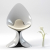 Calla Lily Chair by ZAD Italy has Dangerous Curves