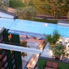 """Massive """"Sky Pool"""" in London Seemingly Floats 10 Stories Above the Ground"""