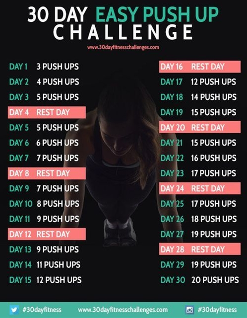 challenge yourself by this workout challenge