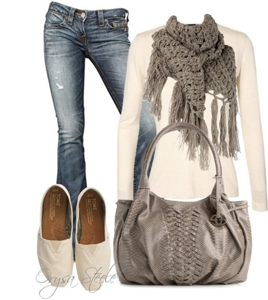 Comfy and Cute! #gray #Fall #outfits