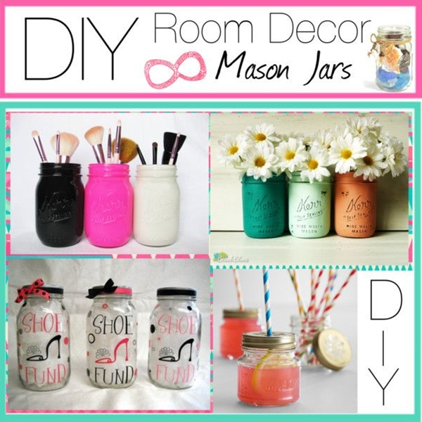 1.) makeup brush holder!
