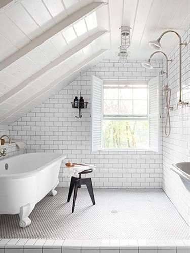 Get inspired to make over your bathroom with these gorgeous before and after photos and simple, clever tips.