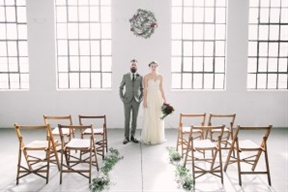 Modern Industrial Wedding Editorial