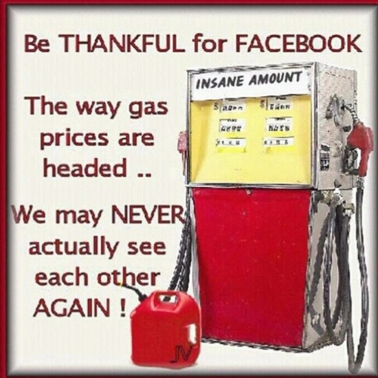 Gas prices--:((