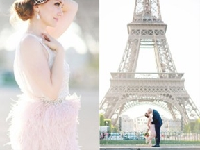 Whimsical Elopement Inspiration in Paris