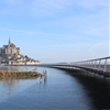 Mont-Saint-Michel bridge by Dietmar Feichtinger opens to pedestrians in Normandy