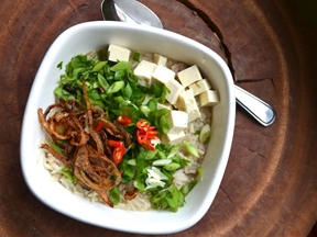 Khao Tom Thai Rice Soup