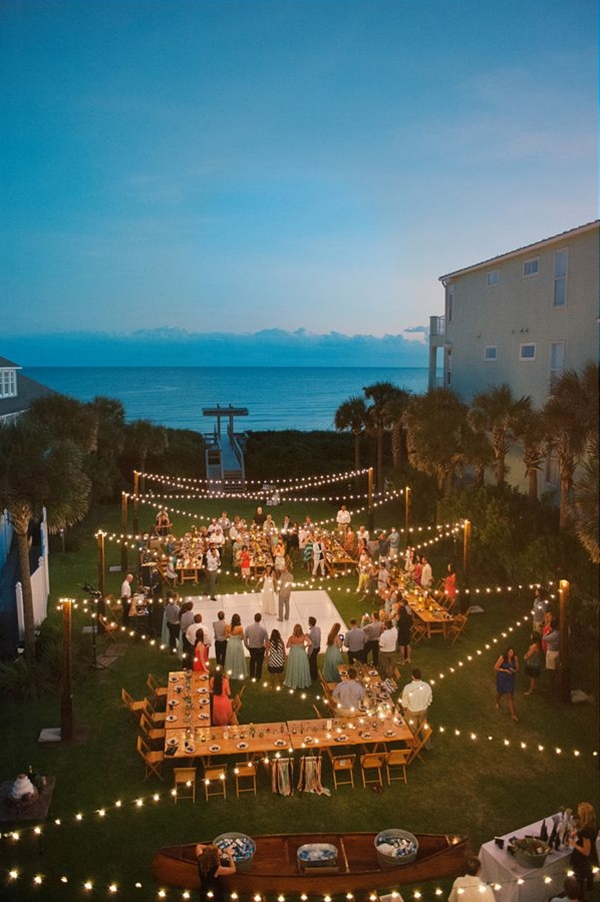 Western Florida Beach Wedding