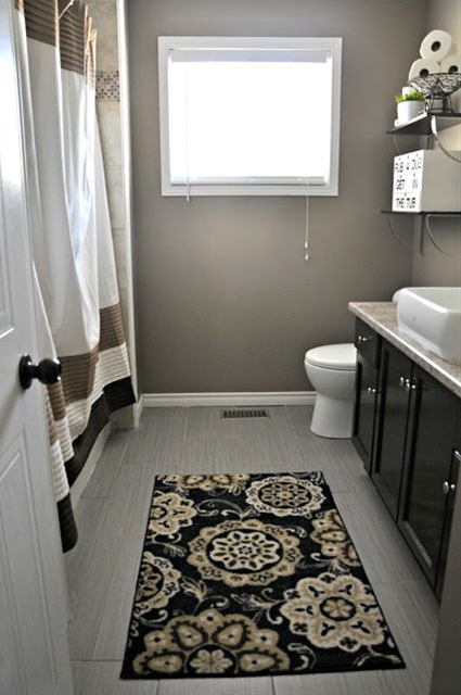 Bathroom Idea.I love these colors. Traditional bathroom layout to consider...
