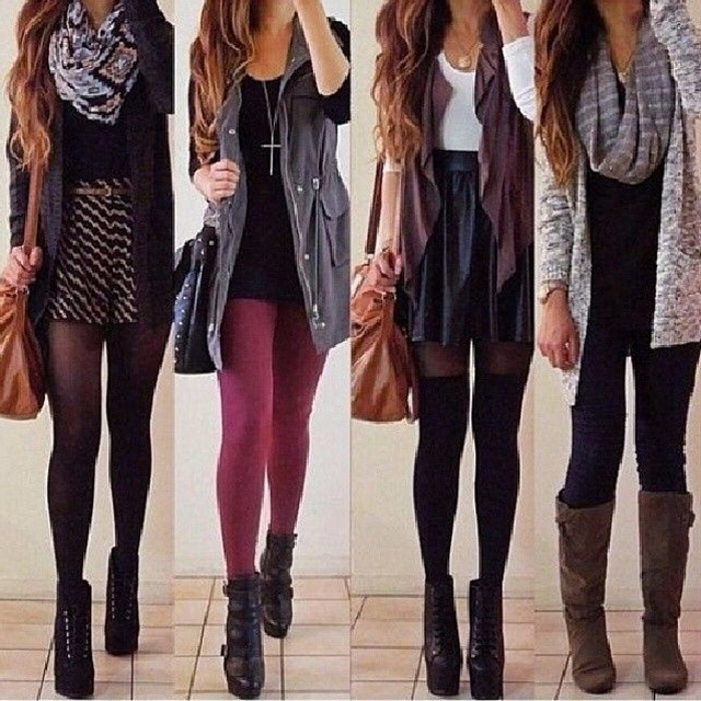 #cardigan #cute outfit #top #skirt