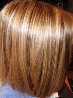 Golden Blonde Highlights w/ Golden Brown lowlights On Golden Brown ...