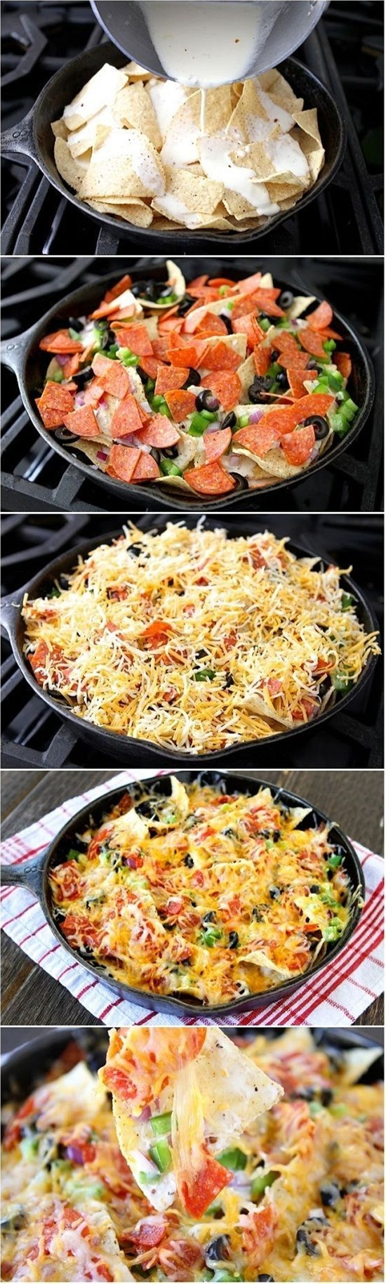 Campfire Nachos these look so good and would really hit the spot on a camping trip or even at a backyard fire pit!