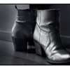 Silver Boots by bartvanden3ssche.tumblr.com Presented as part of...