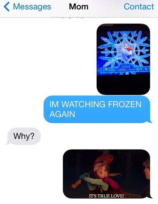 Frozen is a way of life.