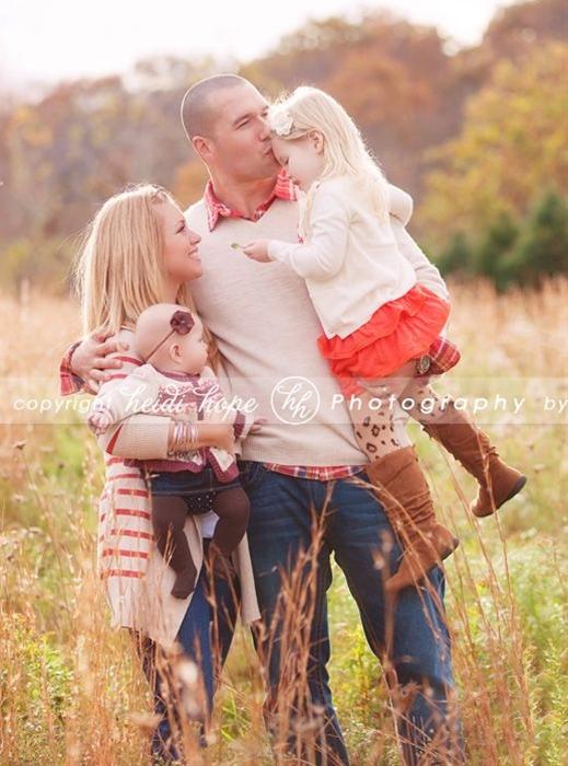 Fall family photos with Heidi Hope Photography!