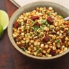 Sautéed Corn With Chorizo, Cilantro, and Lime Juice