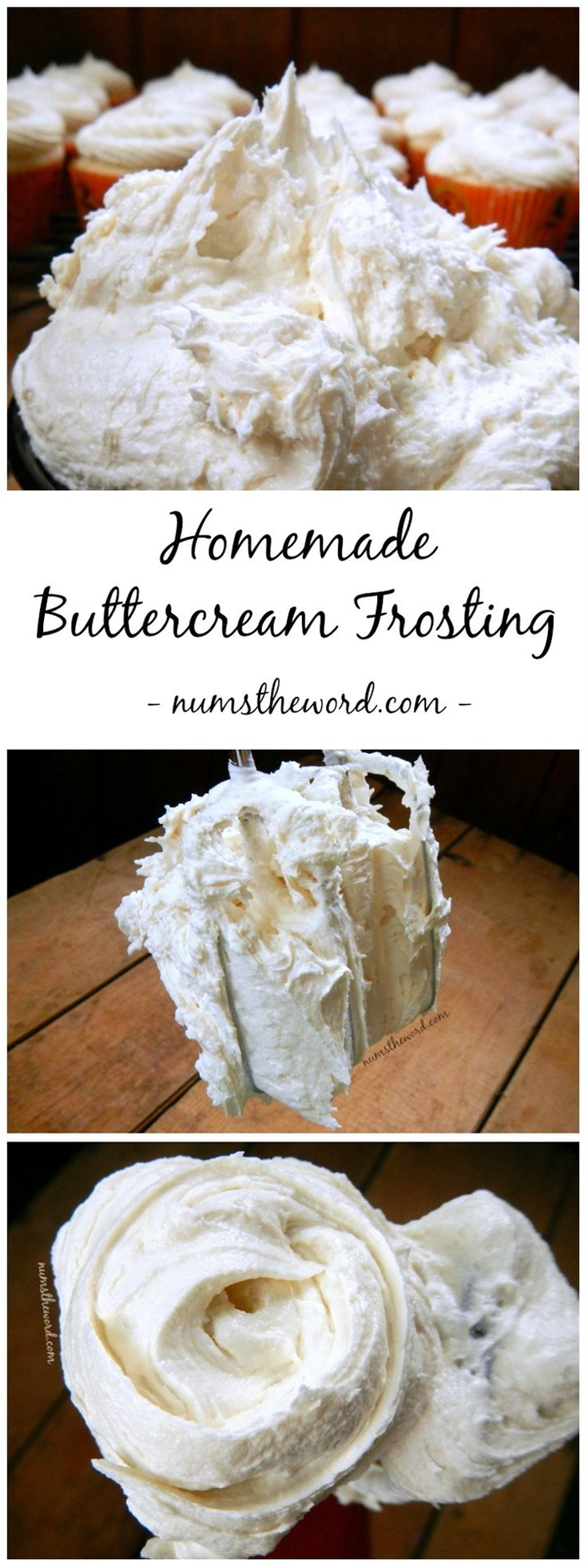 Looking for the perfect cake or cupcake frosting? Try this 5 minute homemade buttercream frosting. It's perfect with any flavor cake and the best I've had!\n\n Ingredients\n  1 cup of butter, softened\n 3 cups powdered sugar\n 1 teaspoon vanilla extract\n 2 Tablespoons heavy whipping cream