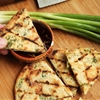 Grilled Scallion Pancakes