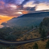 A perfect sunrise at Rowena Crest, Oregon.Follow me on Instagram...