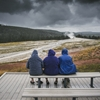 """Waiting for the Old Faithful"" Yellowstone, Wyoming. by..."