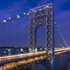 George Washington Bridge, from the New Jersey side by...