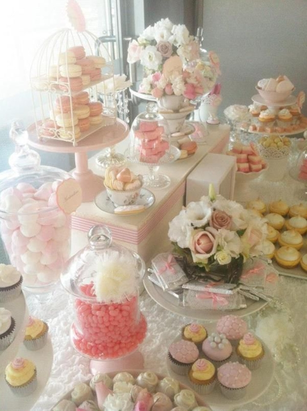 Flowers - Pretty Pink Vintage Wedding Girl Party Shower Ideas Planning Decor